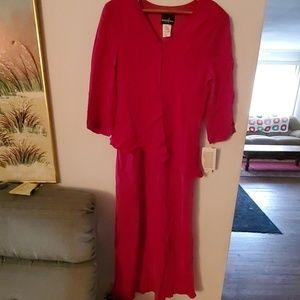 Positive Attitude Pink Long Dress - 16